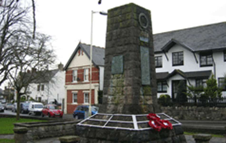 Dinas Powys War Memorial Restored To Glory