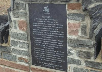First World War Plaques, Newport