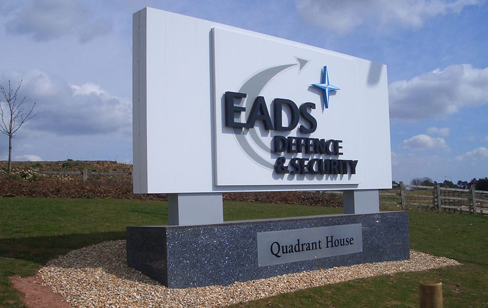 EADS Signage – Newport,Gwent