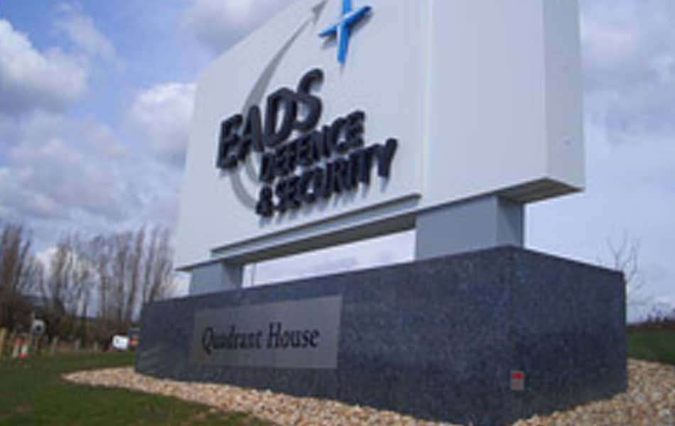 EADS sign