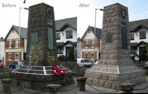 Dinas Powys War Memorial Restoration