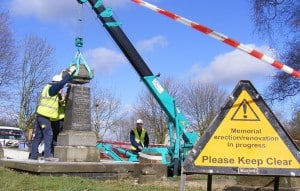 Restoration and Refurbishment of a monument
