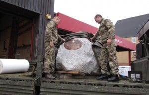 Royal Marines Boulder The Gibraltar Stone