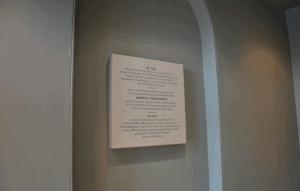 Imperial War Museum Commemorative Plaque