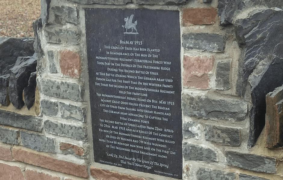 first world war plaques