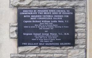 Penarth Town Council Plaque