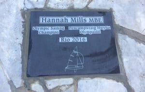 Olympic Sailing Champion Plaque