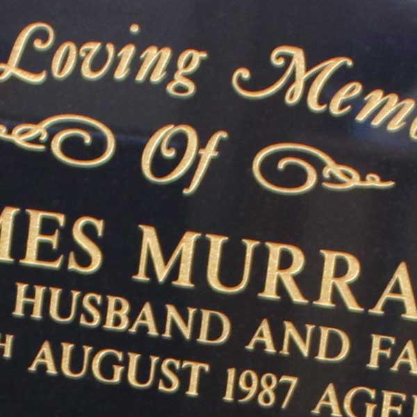CJ ball memorials barry how to choose a headstone inscription font